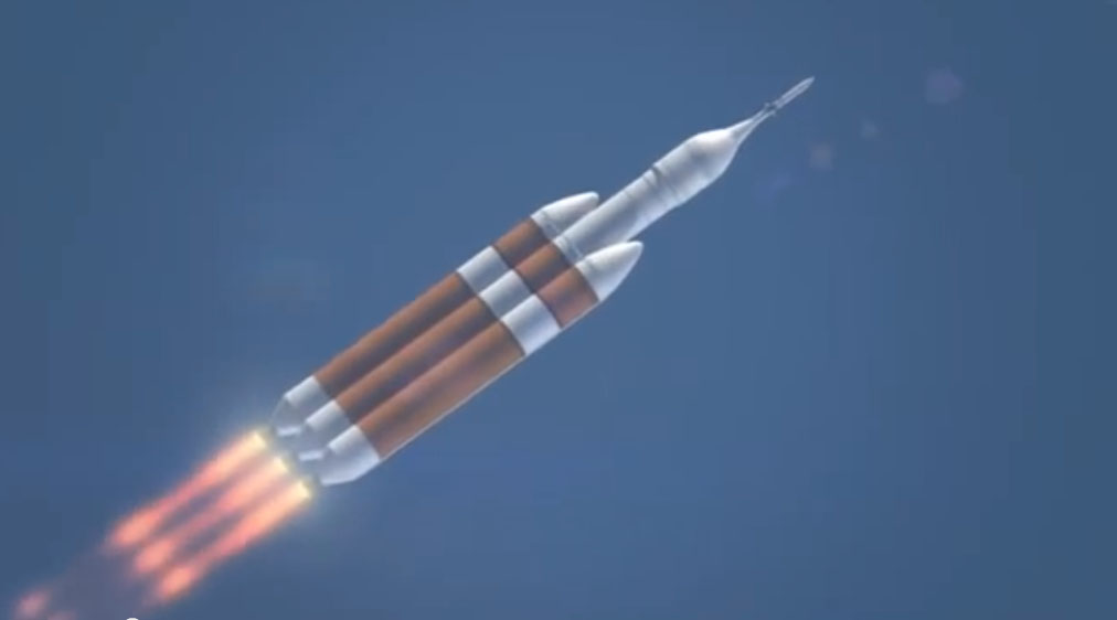 Orion Soars on First Flight Test from Pacific ocean By NASA